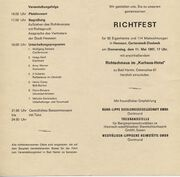 dasbeck – hammwiki, Einladung